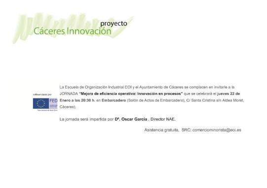 20152201 Invitación Innovacion en procesos