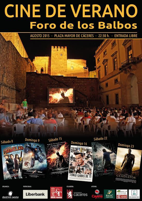 Cine de verano en el Foro de los Balbos