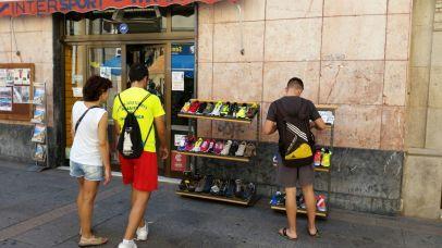 Intersport Mostazo en la calle San Pedro de Cáceres