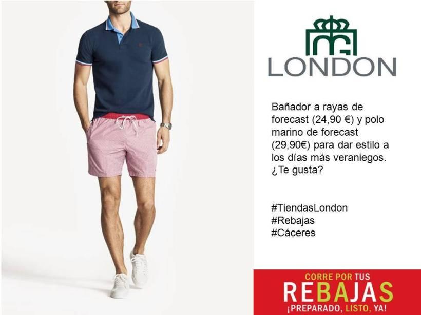 London en la calle Santa Joaquina de Vedruna y en el centro Comercial ruta de la Plata
