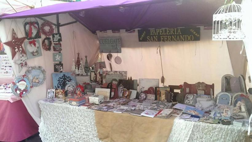 Papeleria San Fernando está en el Mercado Medieval en la Plaza Doctor Duran (junto a la Cámara de Comercio)
