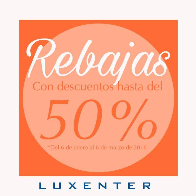 Luxenter en Cáceres en la calle Pintores también en rebajas.