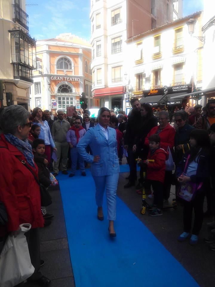 Tiendas Rojo en la Calle Pintores de Cáceres