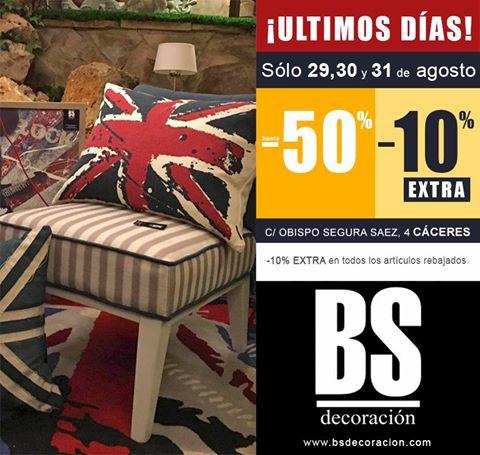 BS decoración enC/ Obispo Segura Saez, 4 #Cáceres  http://bsdecoracion.com/