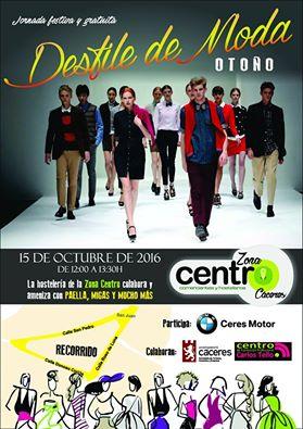El Sábado 15 de Octubre a las 12 de la mañana en las calles San Pedro, Donoso Cortés y Roso de Luna, fantástico desfile para mostraros la mejor moda de nuestras tiendas. Os garantizamos diversión y moda, música y moda, buen ambiente y moda, coches y.....más moda, además de muchas sorpresas.