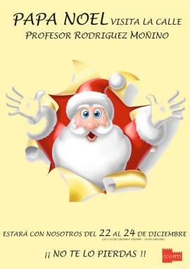 En Rodriguez Moñino estará Papa Noel.