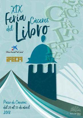 XIX Feria del libro de Cáceres