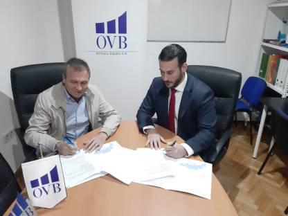Nuevo convenio de Aeca con OVB