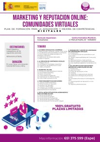 MARKETING Y REPUTACIÓN ONLINE COMUNIDADES VIRTUALES