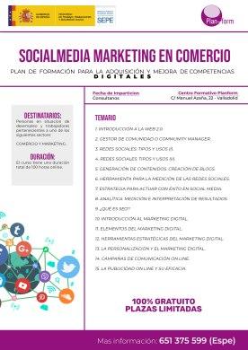 SOCIALMEDIA MARKETING EN COMERCIO